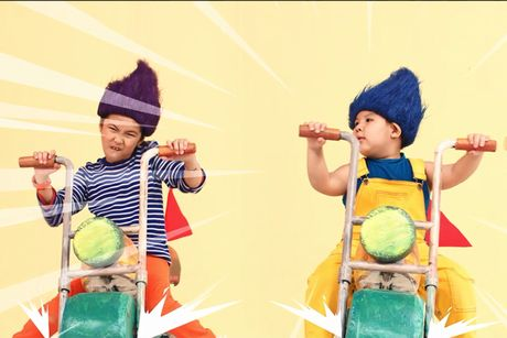 Dan sao nhi hoa than 'quy lun tinh nghich' trong MV moi - Anh 5