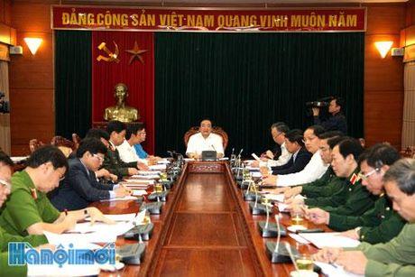 Thuong truc Thanh uy Ha Noi chi dao tang cuong cong tac phong, chong chay no tren dia ban - Anh 1