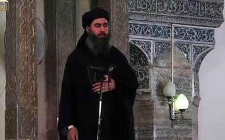 Bi nghi mac ket o Mosul, thu linh toi cao IS pha vo im lang - Anh 1