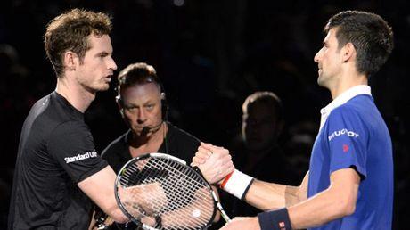 Djokovic va Murray dua tranh tai Paris Masters - Anh 1