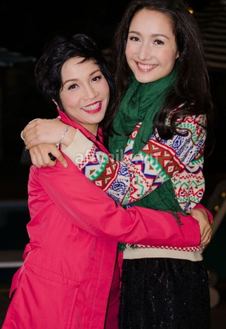 Anna Truong lan dau trai long ve me ke - Diva My Linh - Anh 4