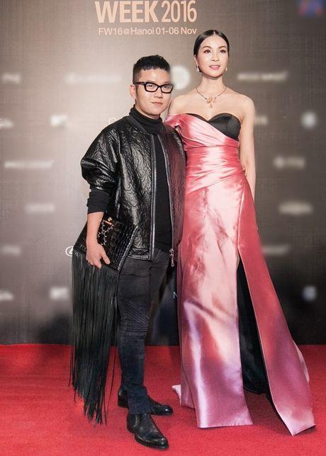 My Linh, Thanh Tu, Toc Tien do sac tren tham do 'Fashion Week 2016' - Anh 12
