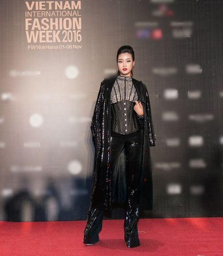 My Linh, Thanh Tu, Toc Tien do sac tren tham do 'Fashion Week 2016' - Anh 2