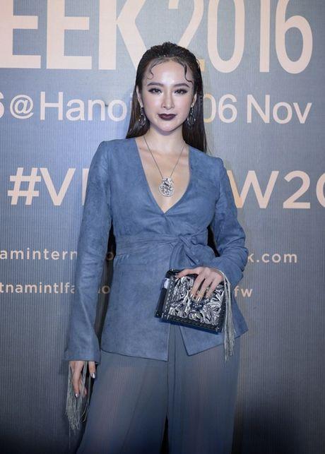My Linh, Thanh Tu, Toc Tien do sac tren tham do 'Fashion Week 2016' - Anh 7