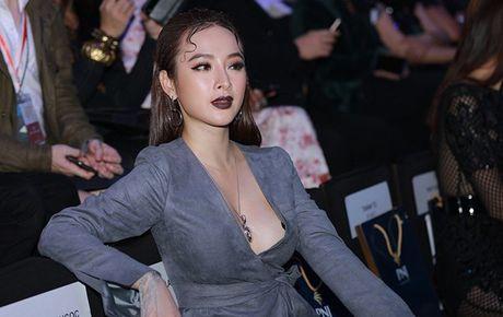 Angela Phuong Trinh lien tuc lay tay che chan vi so ho henh - Anh 2
