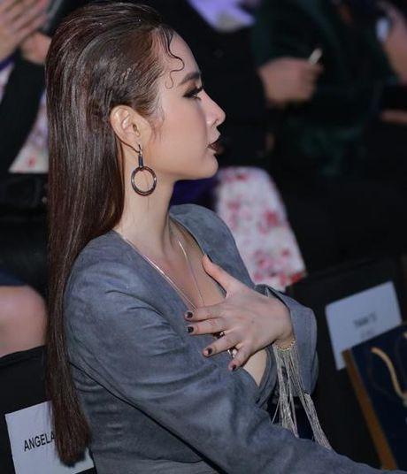 Angela Phuong Trinh lien tuc lay tay che chan vi so ho henh - Anh 3