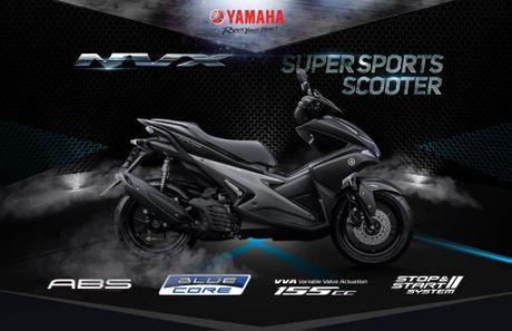 Cong bo chi tiet tay ga Yamaha NVX 155cc tai Viet Nam - Anh 1