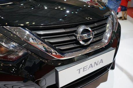 Chi tiet Nissan Teana 2016, doi thu gia 1,5 ty cua Toyota Camry - Anh 2