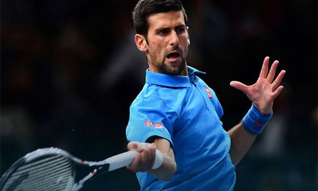 Vong 2 Paris Masters: Djokovic the hien dang cap dung luc - Anh 1