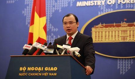 Viet Nam len tieng viec Malaysia ung ho giai quyet song phuong tranh chap Bien Dong - Anh 1