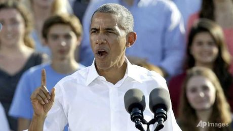 Obama: So phan nen Cong hoa dat tren vai cac ban - Anh 1