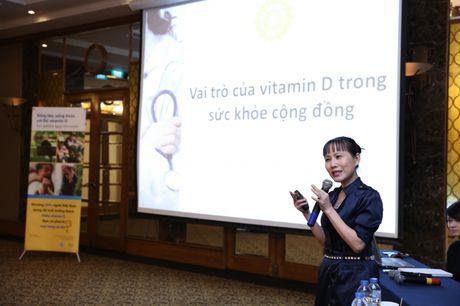 Vai tro cua Vitamin D trong suc khoe cong dong - Anh 1