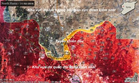 Quan doi Syria danh chiem cac cao diem mo rong dia ban mien Bac tinh Hama - Anh 1