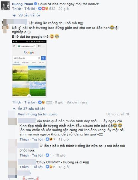 HH Pham Huong bi fan ruot 'boc' vi...lo may song ao - Anh 2