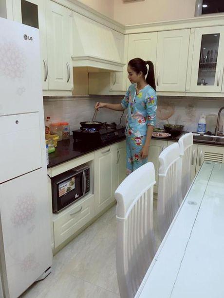 HH Pham Huong bi fan ruot 'boc' vi...lo may song ao - Anh 4