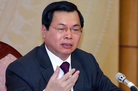 Ban bi thu ky luat cuu Bo truong Vu Huy Hoang - Anh 1