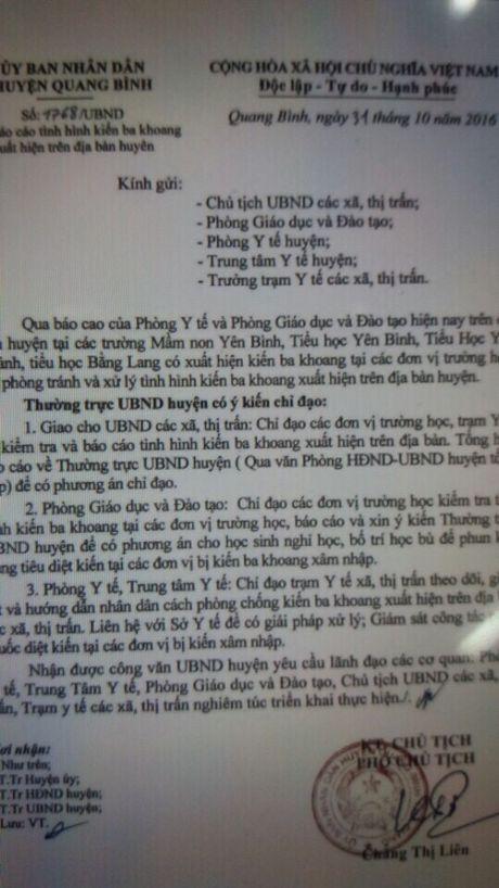Ha Giang: Kien ba khoang hoanh hanh, nhieu truong phai cho hoc sinh nghi hoc - Anh 1