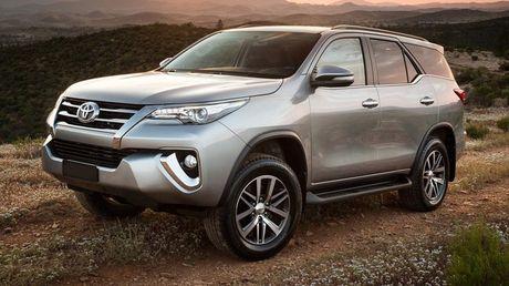 Toyota Fortuner xuat Dubai duoc trang bi dong co la - Anh 2