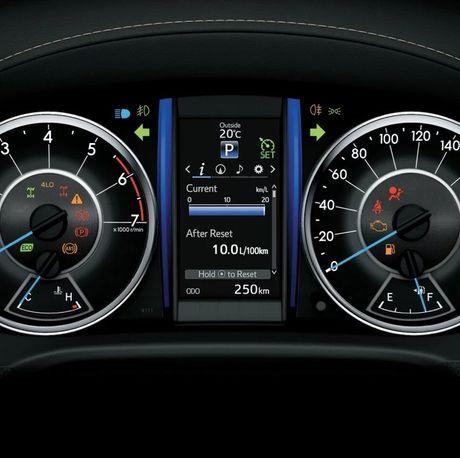 Toyota Fortuner xuat Dubai duoc trang bi dong co la - Anh 7