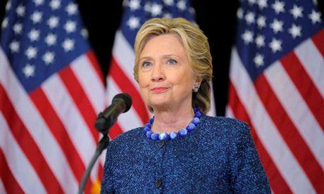 Clinton vuot mat Trump trong tham do moi nhat - Anh 1