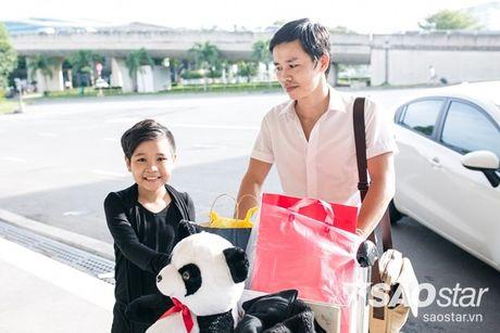 Hau The Voice Kids 2016, fan ra san bay tien Nhat Minh tro ve nha - Anh 2