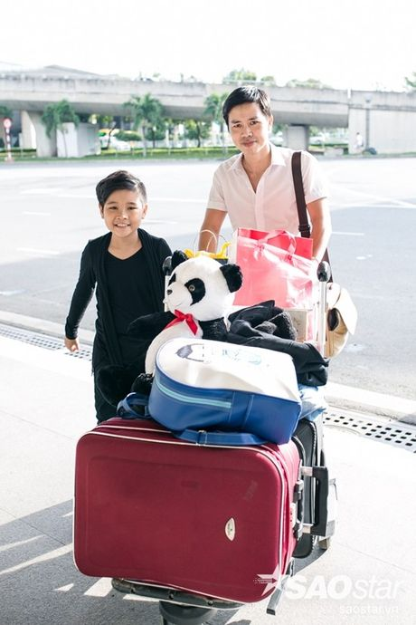 Hau The Voice Kids 2016, fan ra san bay tien Nhat Minh tro ve nha - Anh 3