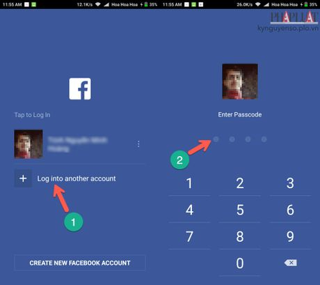 Meo dang nhap nhieu tai khoan Facebook cuc nhanh - Anh 1