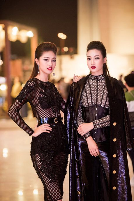 Hoa hau My Linh 'lot xac' tao bao tren tham do thoi trang - Anh 4