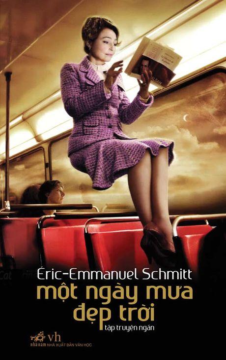 Giao luu voi nha van Phap Eric-Emmanuel Schmitt - Anh 2