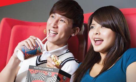 Maritime Bank lien ket he thong rap Lotte Cinema giam 50% gia ve xem phim - Anh 1