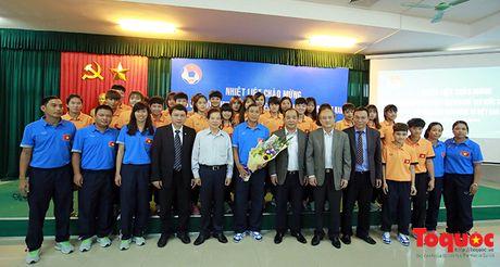 Nguyen Chu tich nuoc Nguyen Minh Triet danh gia cao dao tao bong da tre, phong trao - Anh 7