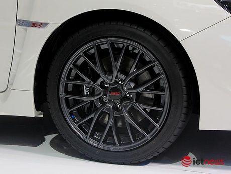 Anh chi tiet sedan the thao Subaru WRX STI 2017 tai Viet Nam - Anh 8
