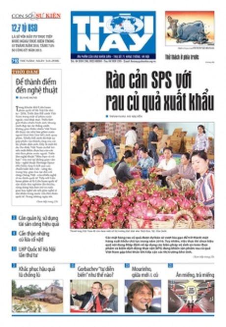 Don doc Thoi Nay so 710, phat hanh thu nam, ngay 3-11 - Anh 1