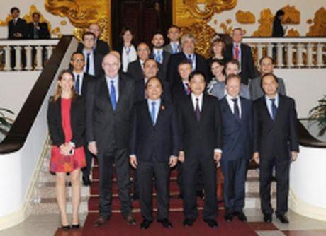 Thu tuong Nguyen Xuan Phuc tiep Cao uy phu trach Nong nghiep va Phat trien nong thon cua EU - Anh 1