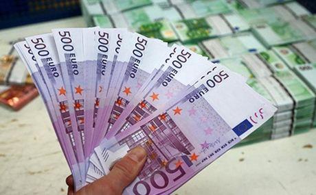 Hang trieu euro tien gia trong ho chua nuoc - Anh 1