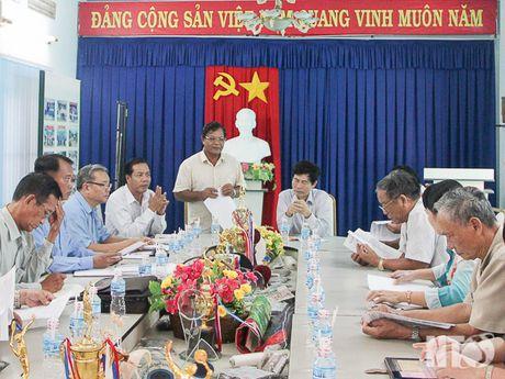 MTTQ Ninh Thuan giam sat cac doanh nghiep ve bao ve moi truong - Anh 1