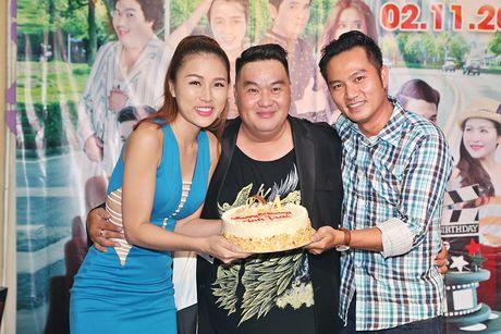 Huy Khanh, Vy Oanh den chuc mung sinh nhat Hoang Map - Anh 9
