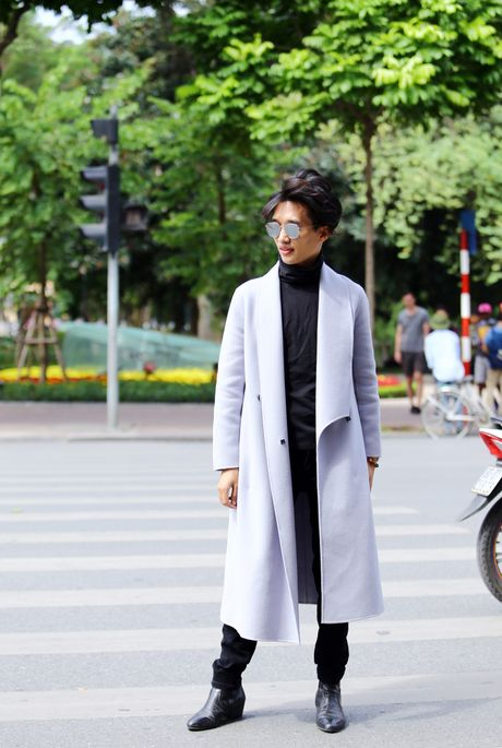 Street style thu dong doi lap cua gioi tre Viet - Anh 11