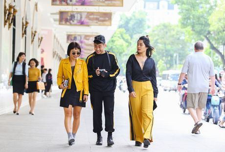 Street style thu dong doi lap cua gioi tre Viet - Anh 5