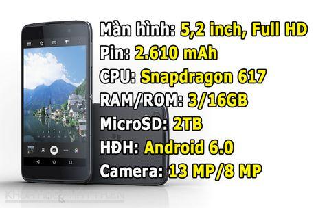 BlackBerry DTEK50 giam gia 1 trieu dong - Anh 1