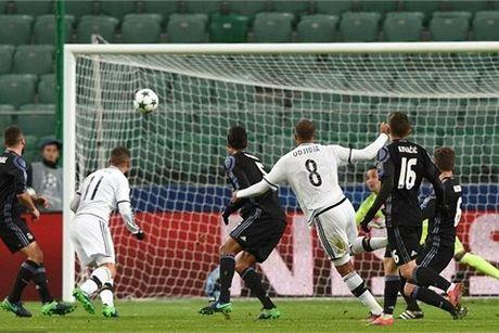 Video ban thang Legia 3-3 Real Madrid - Anh 1