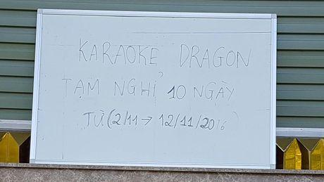 Nhieu day pho karaoke im lim sau vu chay - Anh 1