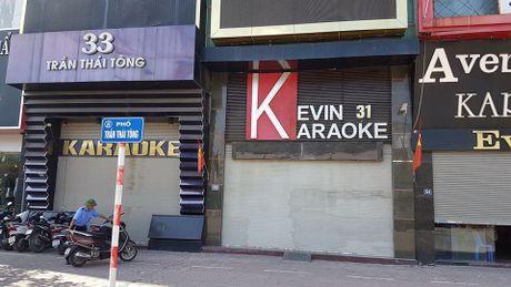 Nhieu day pho karaoke im lim sau vu chay - Anh 2