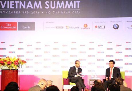 Vietnam Summit 2016 thao luan ve co hoi va thach thuc cho kinh te Viet Nam - Anh 1
