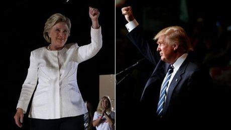 Dung chieu bai 'phu nu', ba Clinton lieu co ha duoc ong Trump? - Anh 1