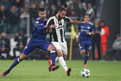 Toan canh tran dau Juventus danh roi 2 diem truoc Lyon - Anh 2
