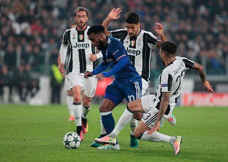 Toan canh tran dau Juventus danh roi 2 diem truoc Lyon - Anh 7