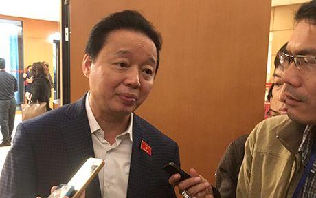 Bo truong Tran Hong Ha: Khong ne tranh xu ly trach nhiem vu Formosa - Anh 1