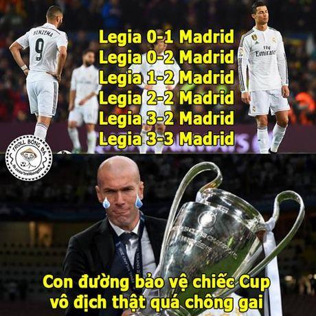 Biem hoa 24h: Real Madrid tro thanh 'tro he' o Champions League - Anh 1