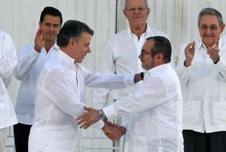Colombia: Thoa thuan hoa binh moi se duoc dua ra truoc ngay 20/11 - Anh 1